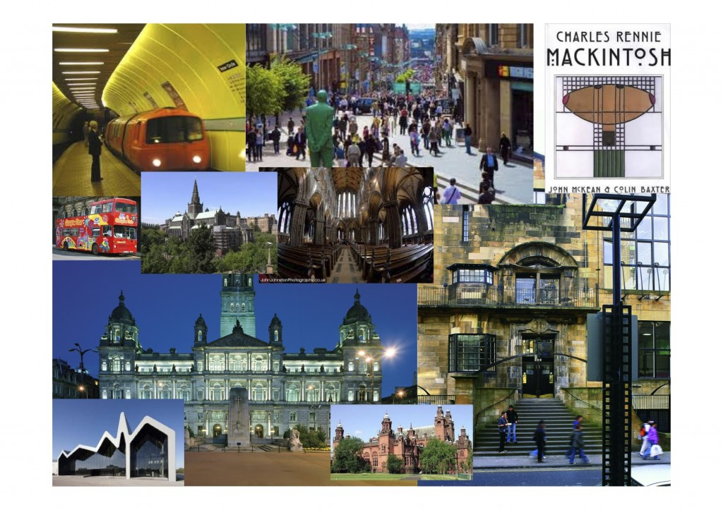 City of Glasgow - jump into the Underground at Byres Road, or onto the tour bus and you can quickly get to the City Centre and a wide range of stunning buildings and activities.